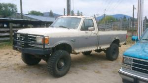 91 ford disel with the 7.3 idi