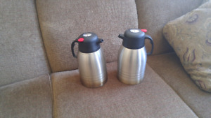2L coffee carafe with thermometer