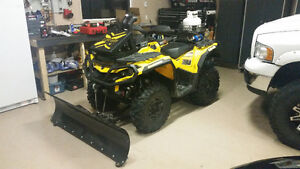 2014 CanAm Outlander 650 with Blade