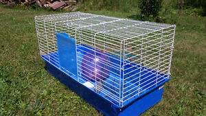 Small pet (hedgehog, bunny, guinea pig) cage with accessories