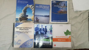 Used Seneca BUI/IBU International Business Textbooks Available