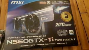 MSI GeForce GTX 560 Ti 1GB Twin Frozr II