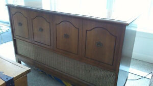 Antique Electrohome  Record Player Cabinet - Asking $ 130.00