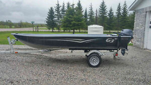 2016 14 foot wide G3 boat