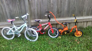 Kid s Bicycles!