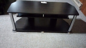 TV Stand can hold up to 50 inch TV