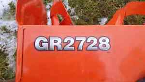"Kubota 46"" Snowblower"