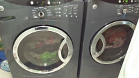 GE FRONTLOAD WASHER AND DRYER