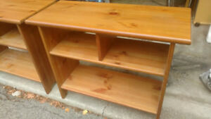Coffee Table, side tables and wall cabinet