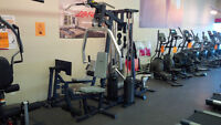 2 Stack commercial multigym with leg press