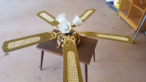"""52"""" ceiling fan with lights"""