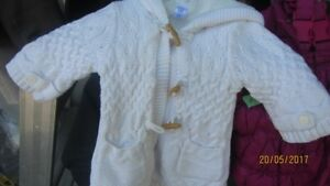 Girls Fall Lined Sweater 3 to 6 months by  GAP