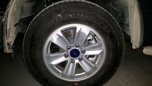 Brand new Ford F150 tires and rims