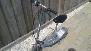 Razor E300S Electric Scooter with a Seat