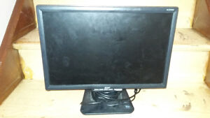 Acer computer monitor 19 inch