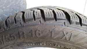 205/55/16 winter tires     almost brand new used 2months only  b