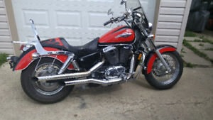 Reliable classic cruiser 1100 shadow. Alot of bike for the money