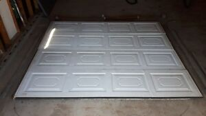 2 (8x7) Insulated Garage Doors with rails and hardware