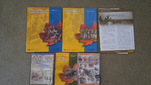 Remembrance Series Canada booklets and Cds