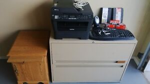 Multi function printer, stand, filing cabinet, office accessorie