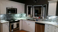 BACKSPLASH SPECIAL ($400 FLAT RATE FOR UNDER 30 SQ FT)