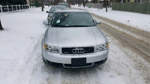 2003 Audi A4 1.8L 4cyl AWD CLEAN TITLE (safetied)