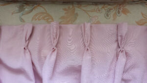 BEAUTIFUL SETS OF CURTAINS - CUSTOM MADE
