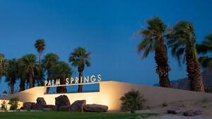 PALM SPRINGS CALIFORNIA SUNSHINE - peace & tranquility