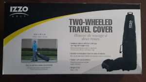 Brand new in box Izzo two wheeled travel cover golf
