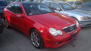 2002 Mercedes-Benz C-Class C230 KOMPRESSER Coupe (2 door)