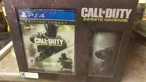 CoD infinite warfare legacy edition with the cup