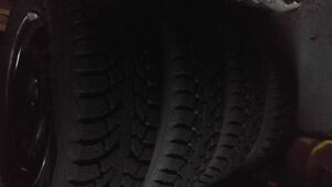 Ford Focus Winter Tires 205 65 15 5x108