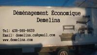 Déménagement pas cher!!! 438-989-8639 / www.demelina.com