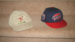 Pooh & Oilers Summer Hats, Overalls, Clothes - 12, 12-18, 18, 24