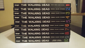 FOR SALE - The Walking Dead Hardcover Graphic Novel 1 Thru 10