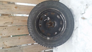 Hercules Avalanche Winter Tires and Rims 205 70 15