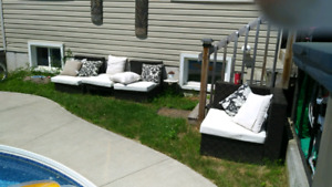 4 Piece Outdoor Couch Set