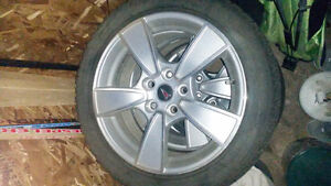 245/45R18 blizzak tires with rims