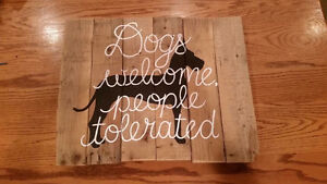 Great Dane dogs welcome people tolerated London Ontario image 1