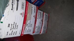 DRYWALL SCREWS 6 1 1/8 GRABBER WOOD AND METAL