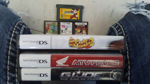 Different DS  games One Gameboy Advance game