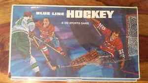 Vintage 1968 Blue line hockey board game
