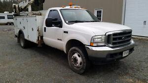 2004 Ford F550 XLT Mechanic Service Truck 6.0L Diesel