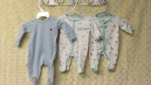 Baby Boy Brand Name Like New Sleepers Preemie