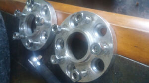 Wheel spacers 5x114.3 1 inch and 1.5 inch