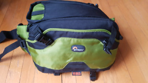 LowePro camera bag - great for cycling, hiking, travel