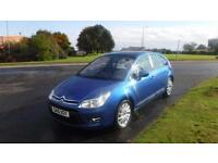 Citroen C4 1.6HDi AUTO,2010,Exclusive,Sat Nav,Air Con,Cruise,F.S.H