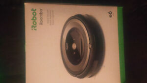 i robot roomba d6 vacume brand new never used