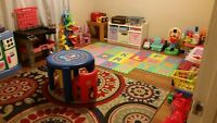 HOME DAYCARE IN SOUTH POINTE - SPOTS AVAILABLE!!