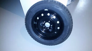 New - Blizzak WS80 - 205/60R16 set of 4 - mounted on steel rims